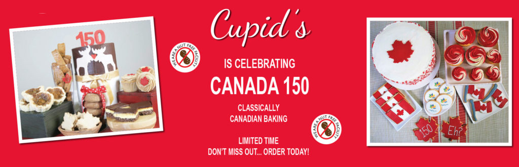 Celebrate Canada's 150th with Cupid's