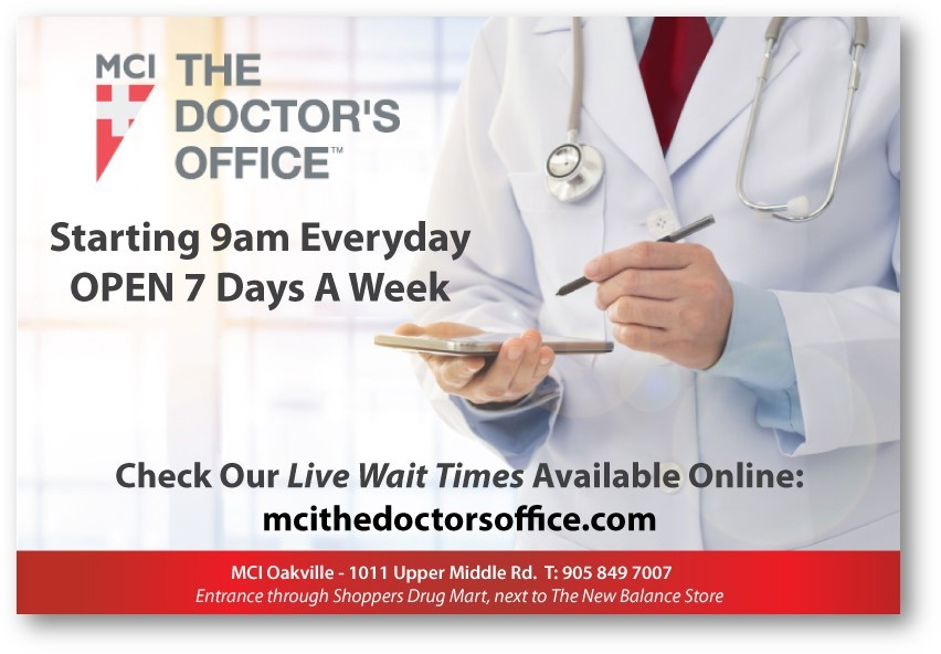 MCI The Doctors office open 7 days a week at 9:00 am