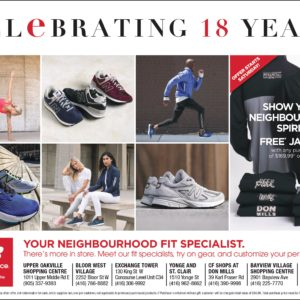 New Balance Celebrating 18 Years!