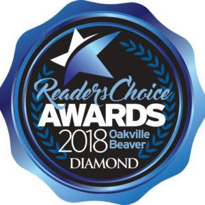 2018 Oakville Beaver's Readers Choice Winners