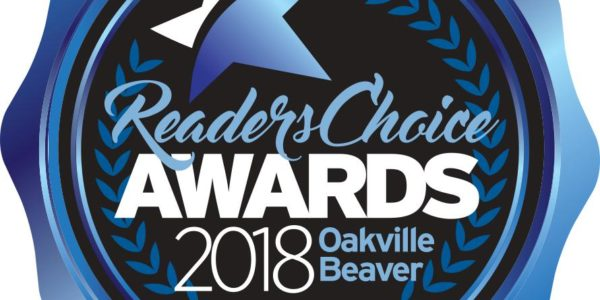 2018 Oakville Beaver's Readers Choice Winners