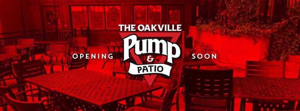 The Oakville Pump & Patio is Opening Soon