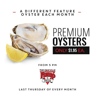 The Oakville Pump & Patio Oyster Night
