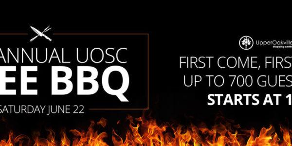 4th Annual UOSC FREE BBQ