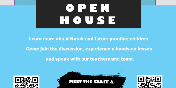 Hatch Coding Open House Sunday September 8th