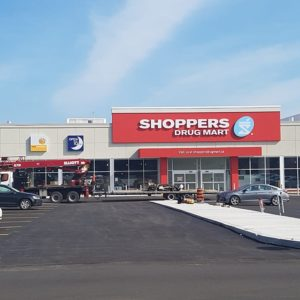 Update: Shopper's Drug Mart – grand opening is Saturday September 21st!