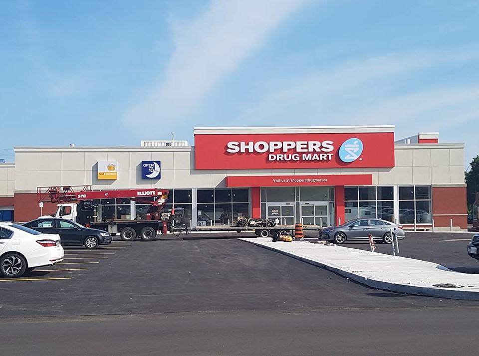 Update: Shopper's Drug Mart – grand opening is Saturday September 21st!