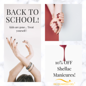 Pretty in Pink Spa Back to School Promotion